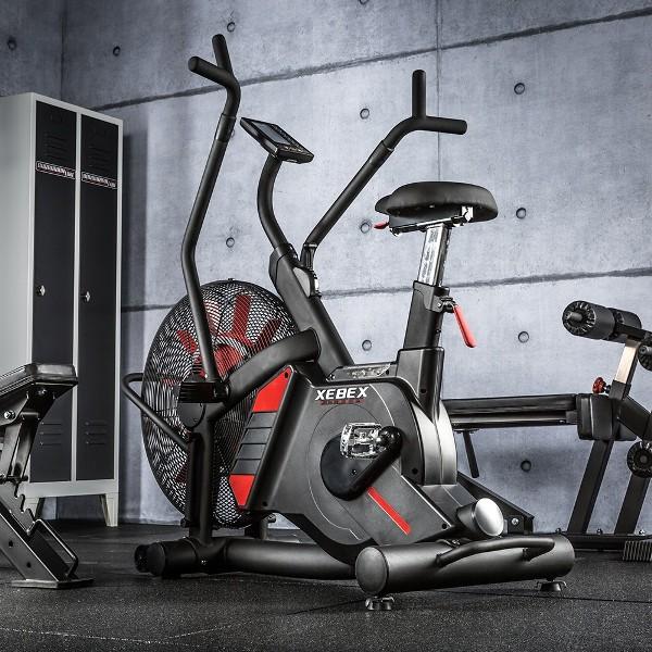 320f735f635 Велоергометър за кросфит XEBEX ® Magnetic Air Bike VR-1